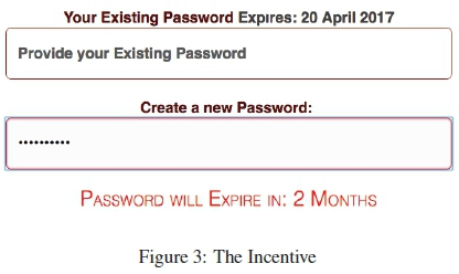 Guidelines for ethical nudging in password authentication