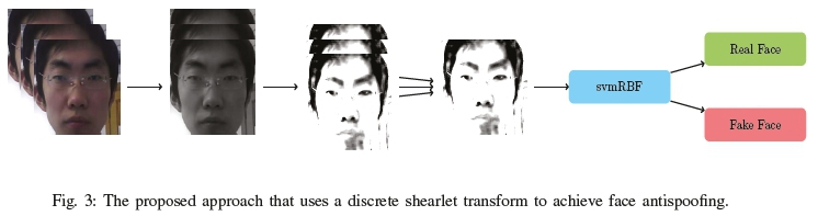 Face Antispoofing Using Shearlets: An Empirical Study