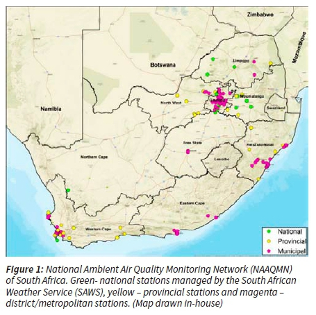 South African Air Quality Information System Saaqis Mobile