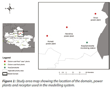 Assessing the impact of Eskom power plant emissions on