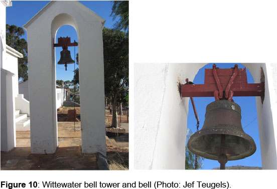 Historic bells in Moravian Missions in South Africa's