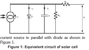 equivalent circuit of solar cell pdf