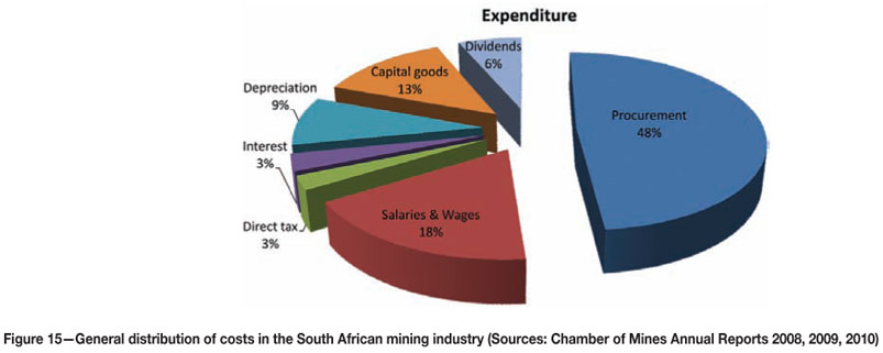 Future of the South African mining industry and the roles of the