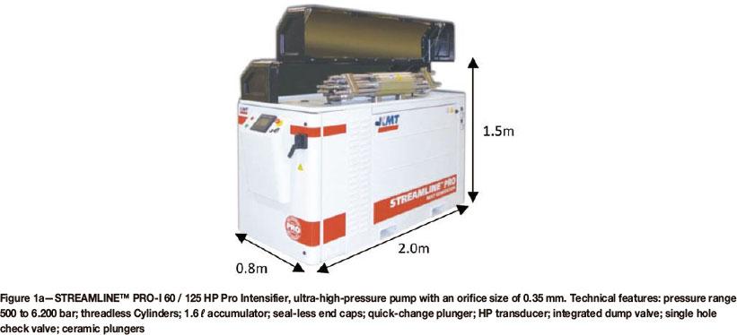 A progress report on ultra-high-pressure waterjet cutting