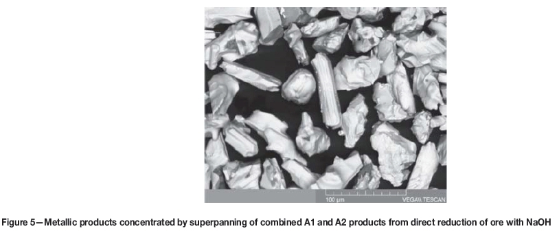 NaOH-assisted direct reduction of Ring of Fire chromite ores