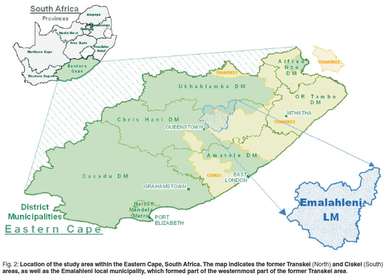 Rabies in the Eastern Cape Province of South Africa  where are we