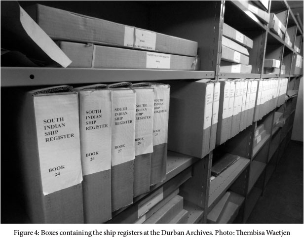 Passages of ink: Decoding the Natal indentured records into