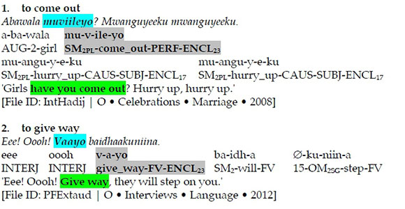 Corpus-driven Bantu Lexicography Part 3: Mapping Meaning