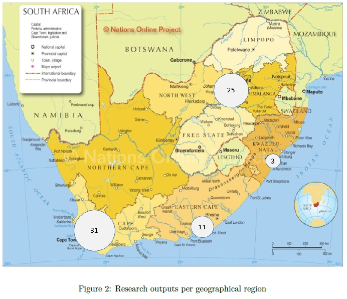 Assessing South African ICT4D research outputs: A journal review