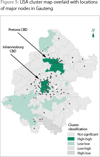 Visualising property crime in Gauteng Applying GIS to crime pattern