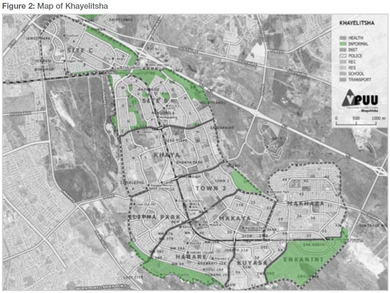 Mapping Khayelitsha The complexities of everyday policing in a high
