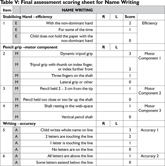 Motor Activity Assessment Scale