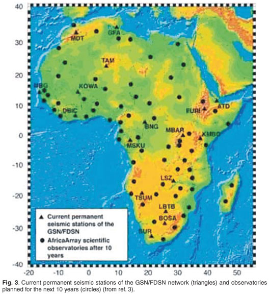 Recent research in seismology in South Africa