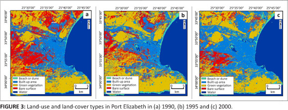 Remote sensing land-cover change in Port Elizabeth during