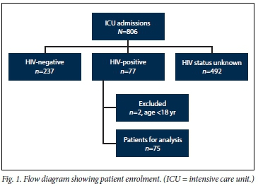 HIV-positive patients in the intensive care unit: A