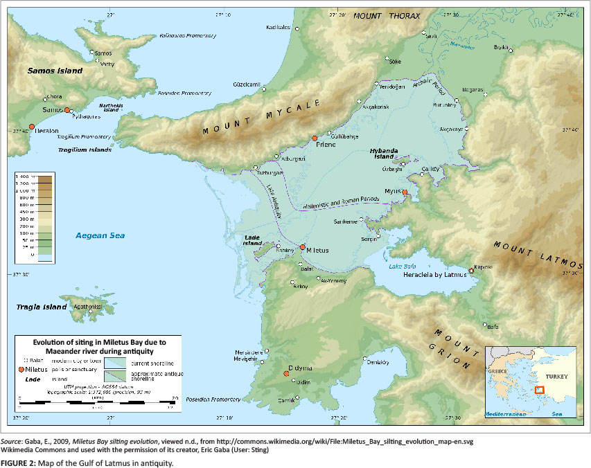 Bible Map Of Asia Minor.The Ephesian Elders Come To Miletus An Annaliste Reading Of Acts 20