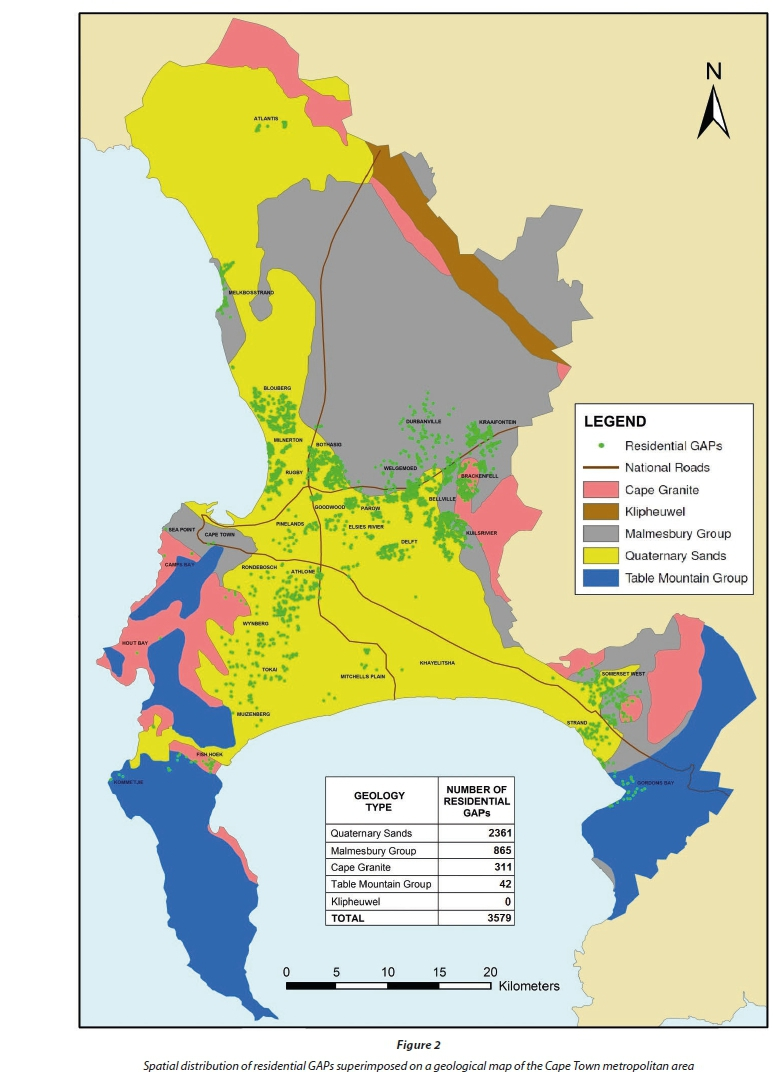 Potable water use of residential consumers in the Cape Town